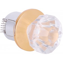 KLS525 LED SPOT LIGHT 1W ALTIN-MAVİ